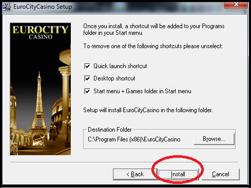 How to download casino games step 6
